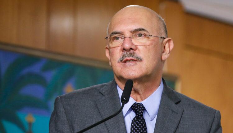 O ministro Milton Ribeiro, durante lançamento do Fundeb em março deste ano [fotografo] Isac Nóbrega/PR[/fotografo]
