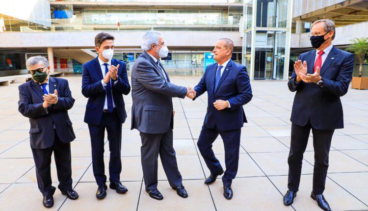 Visita do ministro Onix Lorenzoni ao Sebrae [fotografo] Charles Damasceno [/fotografo]