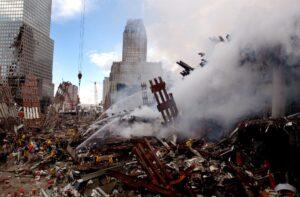 Ataque de 11 de Setembro nos Estados Unidos <div class='fotografo'> Fotos Públicas</div>