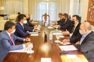 Rodrigo Pacheco, presidente do Senado, se reúne com governadores na residência oficial do Senado Pedro Gontijo / Senado Federal [fotógrafo]