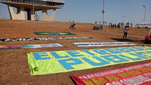 Movimento anti-bolsonaro em Brasília <div class='fotografo'> Lucas Neiva </div>