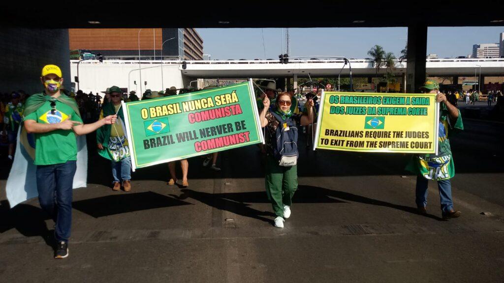 Manifestação 7/9/2021 em Brasília Foto: Tiago Rodrigues/Congresso em Foco